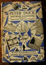 Peter Duck Arthur Ransome Hardback 1963 Swallows and Amazons