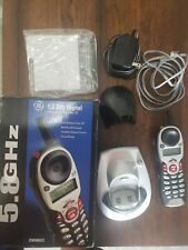GE 5.8 GHz Cordless Phone 25830GE w/ Call Waiting, Caller ID - Free Shipping!
