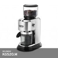 Delonghi Dedica KG520.M Coffee Grinder Mill 220~240V 150W 6 lbs Silver Free UPS