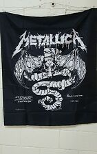 Metallica 38x45 Fabric wall hanging tapestry NOS