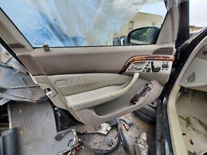 1999-2000-01-2002 MERCEDES-BENZ W220 S430 S500 LEFT FRONT INTERIOR DOOR PANEL