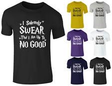 New Girl Boys Kids Children Harry Potter I Solemnly Sware Funny T Shirt Top 3-15