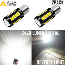 Alla Lighting 30-LED 1156 Backup Reverse|Turn Signal Light Bulb Bright White VS