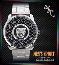 NEW JAGUAR LOGO RONDA Mens Sport Metal Watch