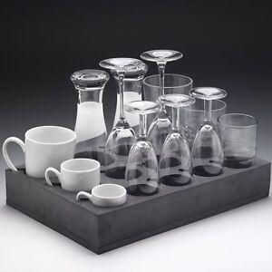 FROLI Universal Rubber Glass And Cup Storage Holder - Camper Motorhome Caravan