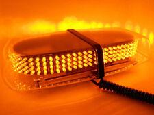 240 LED Bulb Flash Strobe Rotating Beacon Roof top Emergency Car Light Amber