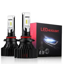 Alla Lighting 8000lm 9006 LED Headlight Low Dipped Main Beam Light Bulbs Lamps