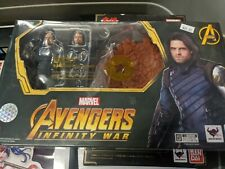 S.H. Figuarts Bucky Avengers Infinity Wars and Tamashii Impact  Effect
