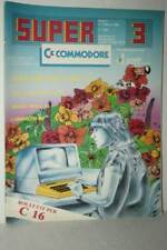 RIVISTA SUPER COMMODORE ANNO 2 NUMERO 3 MARZO 1985 USATA EDIZIONE ITA FR1 54721