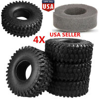 "120mm 1.9"" RC Crawler Tires Tyre For 1:10 RC TRX-4 Rock Crawler Axial SCX10 D90"