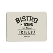 Bistro Set of 4 Placemats Cork Dining Place Setting Dinner Table Mats Tableware