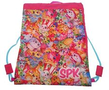 Shopkins Spk' Drawstring School Pe Gym Trainer Bag Brand New Gift