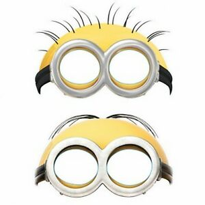 Despicable Me Minions Party Masks 6pk - Despicable Me Party Supplies