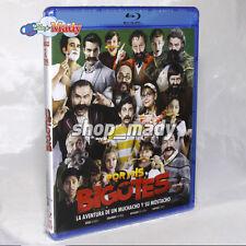 Por Mis Bigotes La Aventura de un Muchacho y su Mostacho Blu-ray, Región A, B, C