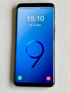 Samsung Galaxy S9 Duos 64GB sehr guter Zustand blau unlocked