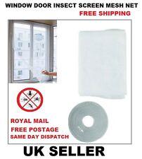 Pantalla De Insectos Mosquito Mosca Windows Blanco Malla Red Red de Protección de puerta