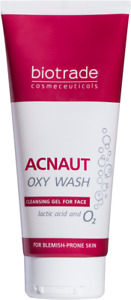 Acnaut Oxy Face Wash With Pure Oxygen And Lactic Acid 200 ml By Biotrade
