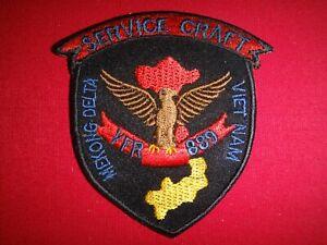 Vietnam War US Navy Service Craft YFR-889 MEKONG DELTA Patch