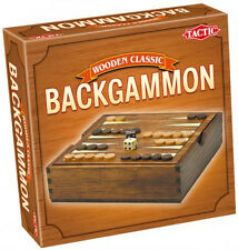 Game Wooden Classic Backgammon - Tact14026 Tactic