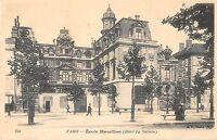 CPA 75 PARIS IVe ECOLE MASSILLON HOTEL LA VALLETTE (dos non divisé)