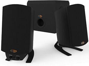 Klipsch ProMedia 2.1 THX Certified Computer Speaker System (Black) - New OpenBox