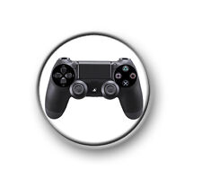 """PLAYSTATION CONTROLLER / 1"""" / 25mm pin button / badge / gaming / console / XBOX"""