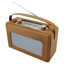 Radio Analogica piel sintetica Marron. TR85HBR Soundmaster        Radio