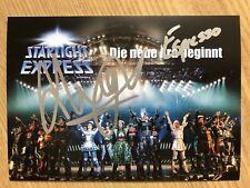 Anthony Hughes Espresso AK Starlight Express Autogrammkarte original signiert