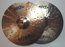 "Istanbul Agop ART 20 Series 14"" HiHat bacino piatto Cymbal PLATILLO Hi Hat"
