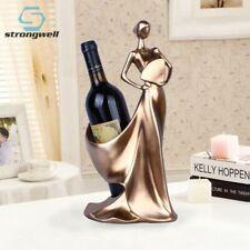 Creative Figurines Luxury Home Decoration Modern Wine Rack Home Decor Statue