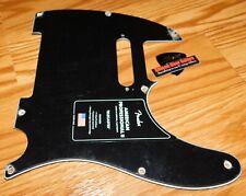 Fender Telecaster Pickguard American Professional 2 Black Guitar Parts Pro Tele