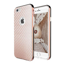 iPhone 8 7 Plus 6s SE Case for Apple Zuslab X Bumper Cover Tempered Glass Screen iPhone 5 Rose Gold