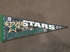 1999 DALLAS STARS WESTERN CONFERENCE CHAMPIONS STANLEY CUP PENNANT