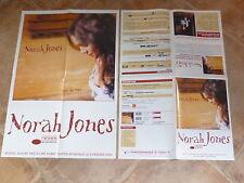 NORAH JONES - FEELS LIKE HOME !!! RARE POSTER PROMO /PLAN MEDIA!!!!