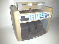 Geldschein-Zählmaschine # Brückner GmbH # Model K-100 # defekt # für Bastler