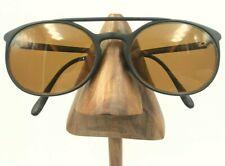 2838e0e050ec Vintage Lacoste 1530 Matte Black Oval Aviator Sport Sunglasses Frames France