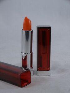 Maybelline Color Sensational Lipstick #880 Electric Orange Lot of 2