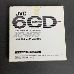 JVC XC-M75 6-CD Six Compact Disc Magazine Cartridge With Sleeve