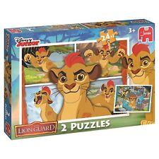 24 Piece The Lion King Guard Children's Disney Jigsaw Two Puzzles Box Set Jumbo