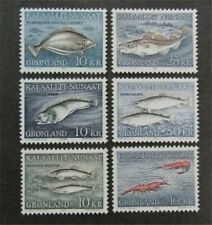 nystamps Greenland Stamp # 136-141 Mint H $49