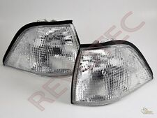 1992-1999 BMW 3-Series E36 Coupe Convertible Clear Corner Signal Lights 1 Pair