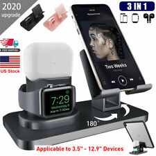3 in 1 Charger Stand Holder Station Charging Apple Watch Airpods Pro iPhone iPad