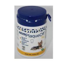 Plaque off chien anti tartre haleine nettoyant  poudre 60g new presentation