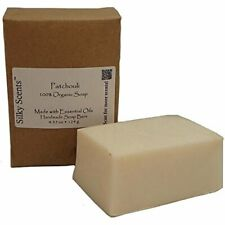 Patchouli Essential Oil Soap Bars - 3 Pack (13.05 ounces) - GMO Free, Certified