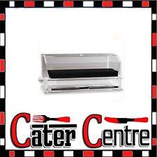 Acrylic Straw Dispenser / Holder For Full Length Straws 270 x 140 x 170mm