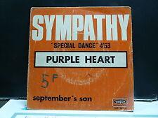 PURPLE HEART Sympathy / september's son INT 80240