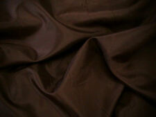 Dress Lining Anti Static Dress Fabric 150cm Dark Brown SOLD PER METRE