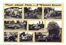 """Land Rover Series 1 80"""" - Modern postcard by Vintage Ad Gallery"""