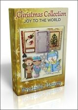 Card-making DVD - Joy to the World Christmas Collection. Brilliant value!