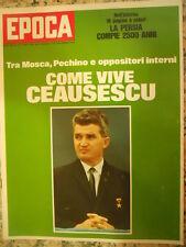 EPOCA 1094 1971 speciale Come vive Ceausescu